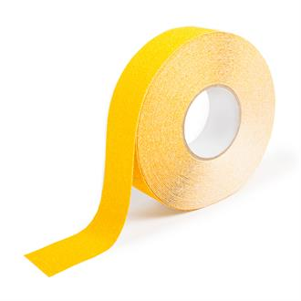 Antislip tape extra grof geel B=50mm L=18,3m