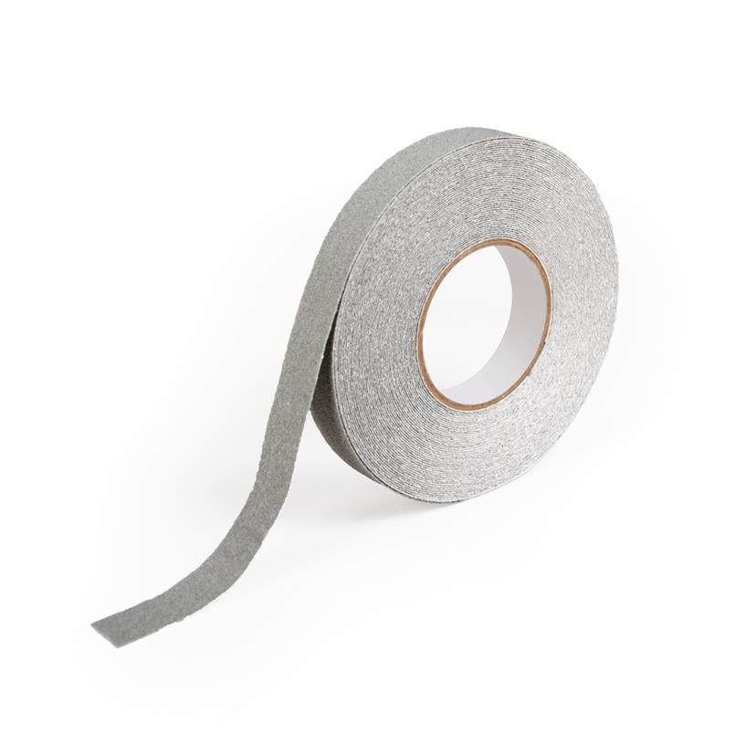 Antislip tape marine grijs B=25mm L=18,3m