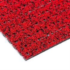Antislipmat op rol rood (breedte 120cm)