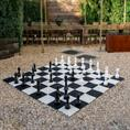 Buiten schaakspel inclusief schaakmat