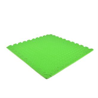 EVA FOAM tegel checker groen 620x620x12mm (4 tegels+randen)