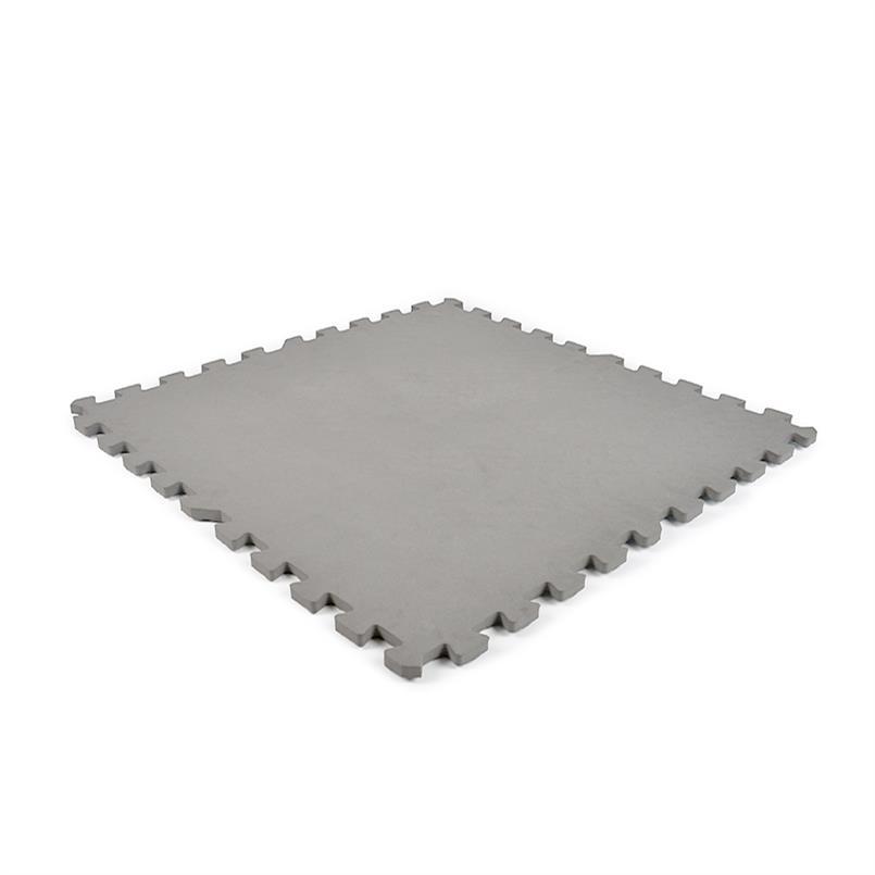 EVA FOAM tegel checker lgrijs 600x600x12mm (4 tegels+randen)