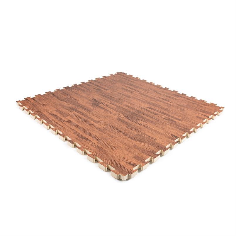 EVA FOAM tegel donkerhout 1000x1000x20mm