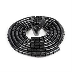 Kabelgeleider zwart D=15mm L=3000mm