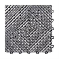 Open kliktegel hard donkergrijs 300x300x15mm