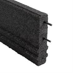Opsluitband zwart 100x25x5cm