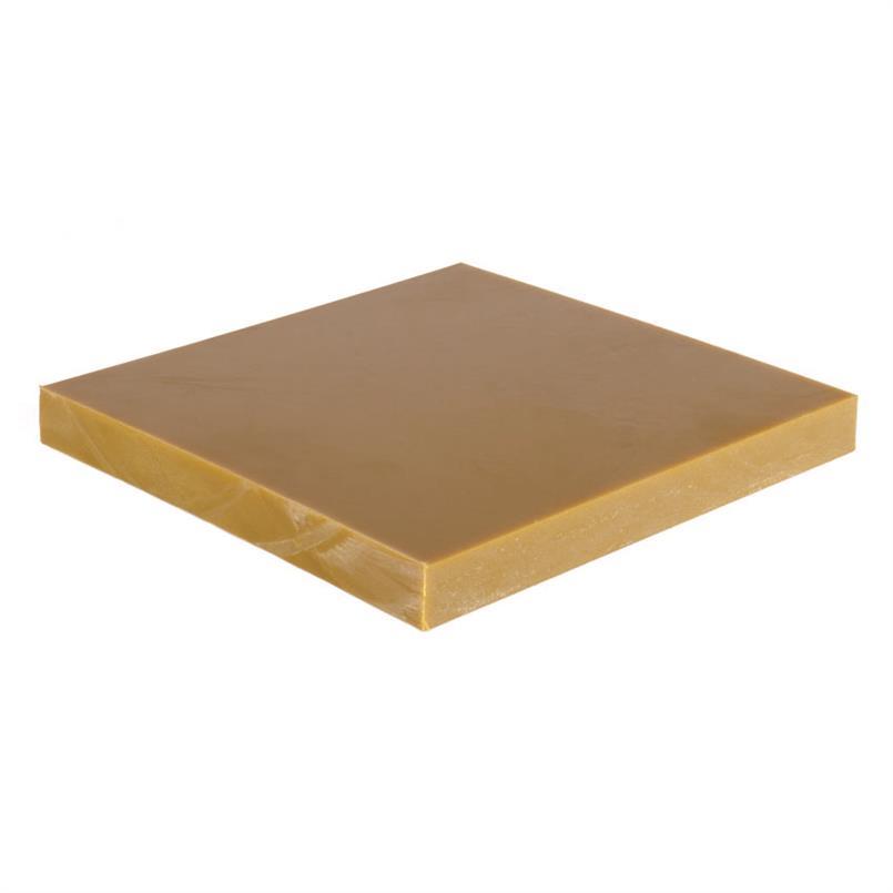 Polyurethaan plaat bruin 2mm (200x100cm) 90 Shore A