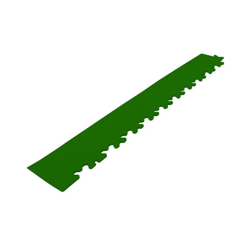 PVC kliktegel hoekstuk groen 7mm