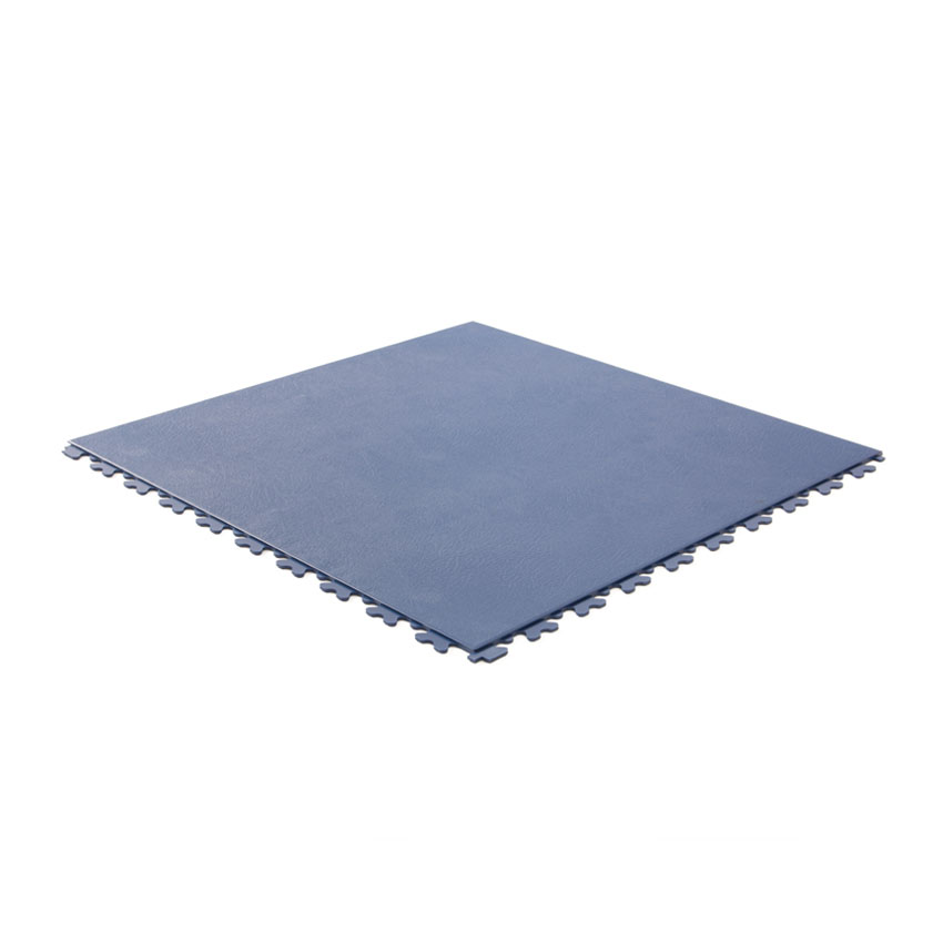 PVC kliktegel leather donkerblauw 500x500x5,5mm