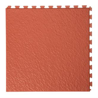 PVC kliktegel leisteen terracotta 458x458x5mm