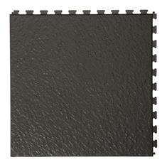 PVC kliktegels leisteen zwart 458x458x5mm