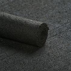 Rubber ondervloer asfaltlook 3mm (breedte 100cm)