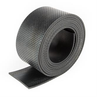 Rubberstrip CR 100x5mm eenzijdig antislip