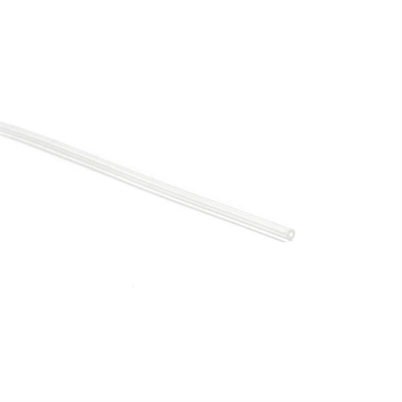 Siliconen slang transparant 0,5x1,3mm