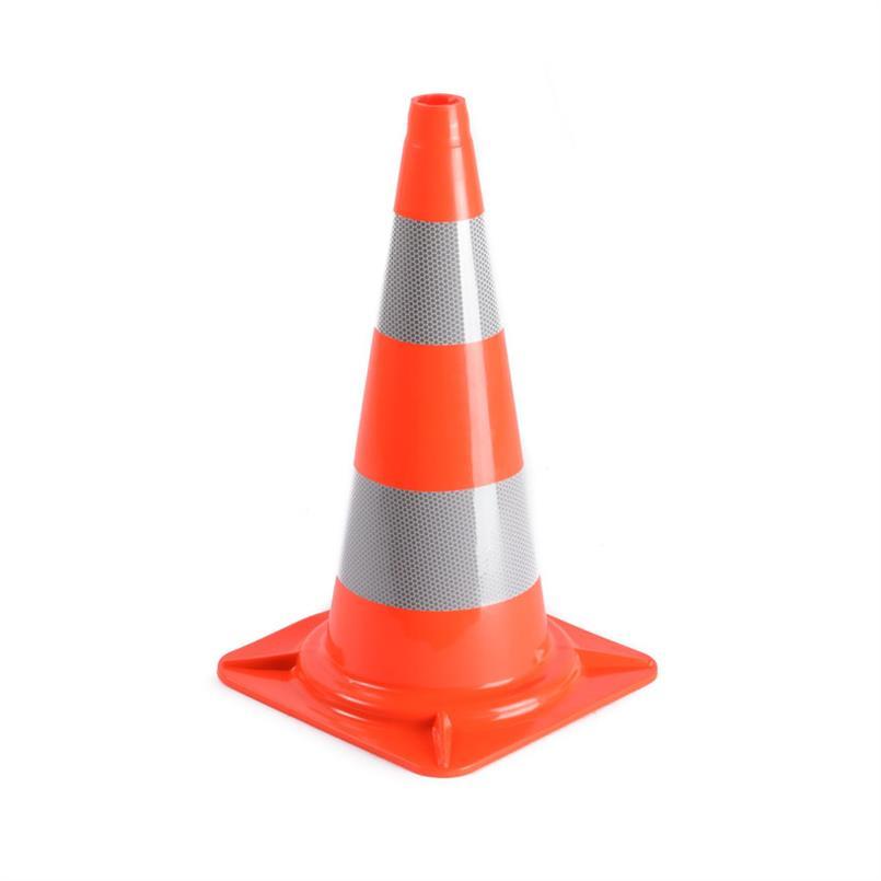 Verkeerskegel oranje - pilon 50cm hoog