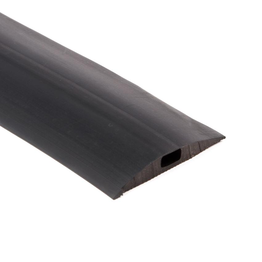 Onwijs Volrubber dorpel zwart BxH=66,5x10,7mm - Kabelgoten CT-57